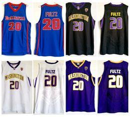 Mens Blue Markelle Fultz DeMatha High School Basketball Jersey Cheap 20  Washington Huskies Markelle Fultz Stitched College Basketball Shirts 9f0a43e53