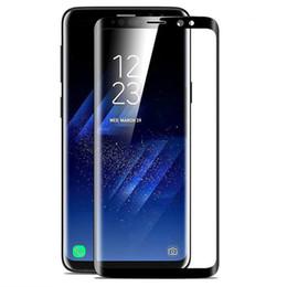 Premium 3d curvo cobertura completa protetor de tela do telefone de vidro temperado para samsung s9 s8 s7 borda nota 9 8 para iphone X Xs Xr max 8 7 6 6 s plus de