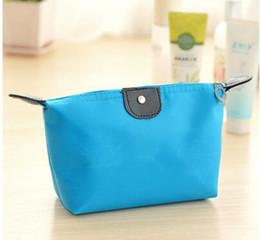 Wholesale Pink Storage - Cosmetic bag simple ladies mini wash bag waterproof trumpet portable hand-held travel storage bag
