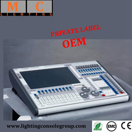 Toque manual online-DMX512 Professional Tiger Touch DMX Controller dj Consola ligera con Flight Case
