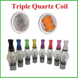 Dreifache Quarzspule für Glaskugel-Zerstäuber als Wachs umwickelt Kopf-Ersatz-Quarz-Spule für Wachs-trockenen Kraut-Stift-Zerstäuber von Fabrikanten