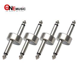 4PCS / LOT Z Tipo Conector de Acoplamiento del Pedal de Efecto de Guitarra 1/4 pulgada Chrome desde fabricantes