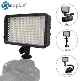 vídeos de cn Desconto Mcoplus 130 LED Luz de Vídeo / Iluminação Fotográfica para Câmara de Vídeo DV Pentax DSLR VS CN-126