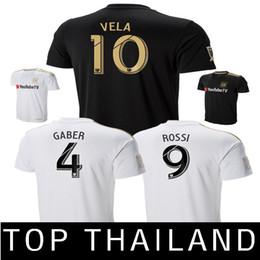c0b945173 TOP Thailand Los Angeles FC soccer jerseys LAFC CIMAN ZIMMERMAN Football  Shirt 18 19 Vela GABER ROSSI Jersey Camisas de futebol