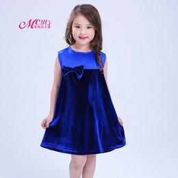 Canada Style européen et américain robes de filles nouvel été enfants bowknot princesse robe de soirée robes filles vêtements 4 6 8 10 ans Offre