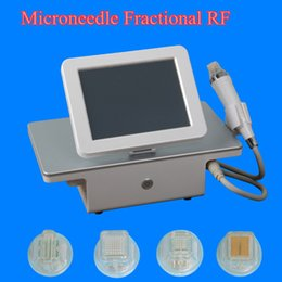 Wholesale Stretching Devices - fractional rf beauty machine microneedle rf wrinkle removal portable radio frequency face lift Stretch marks removal device