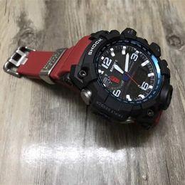 Wholesale Diving Digital - 2018 Dropshipping Mens AAA G Style Watch Multifunction Shock Watches Climbing Dive Clock LED Outdoor Sport Men Wristwatch Bracelet Clock