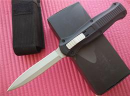 bolígrafos tácticos laix Rebajas Benchnade BM 3300 3300BK infid Double Action en la parte delantera Cuchillos automáticos D2 blade Dagger EDC knife cuchillos tácticos con funda