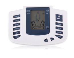 Chinelos estimuladores elétricos on-line-Nova Massageador Elétrico Completo Estimulador de Terapia Corporal máquina, Pulse dezenas Acupuntura com terapia chinelo + 4pads