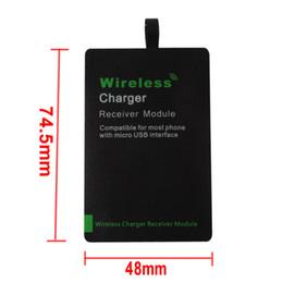 Ultra Slim Kompatibel Wireless Ladeempfänger Modul mit Micro USB CHA_10Y von Fabrikanten