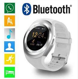 """Canada Montre de sport Y1 Smart Watch 1.54 """"Écran tactile Fitness Fitness Tracker Moniteur de sommeil Podomètre Calories Suivi de la carte SIM Offre"""
