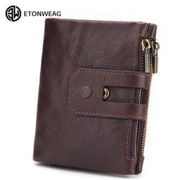 0d895cacf70 100% cowhide male wallet handy money vintage brand short card holder luxury mens  wallet leather genuine  9097