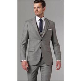 Mens Light Gray Suit Wedding Canada   Best Selling Mens Light Gray ...