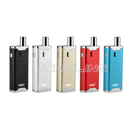 Wholesale Vaporizer Voltage Battery - 100% Original Yocan Hive Kit Wax&Oil 2 in 1 Vaporizer Kits Yocan Hive 2.0 Variable Voltage 650mah Battery Wax Oil Atomizers Kits