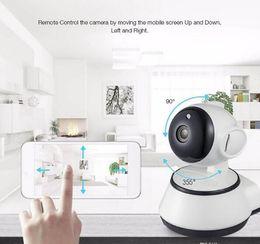 проволока для мини-кулачков Скидка Главная безопасность IP-камера WiFi камера видеонаблюдения 720P ночного видения обнаружения движения P2P камера монитор младенца увеличить
