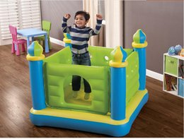 Wholesale Trampoline Jumping - PVC Inflatable Ocean Ball Pool Baby Inflatable Castle Toy Quality Children Jumping Trampoline