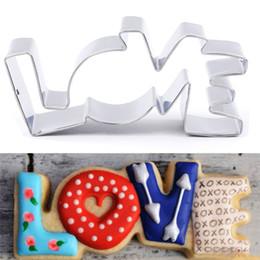 Deutschland Liebhaber Serie Design Edelstahl Ausstecher Liebesbrief Form Formen Für Keksform Backformen Gebäck Süßwaren Werkzeuge Versorgung