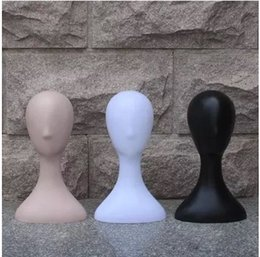 Wholesale mannequin head for wig hat - Fashionable High Level Female Plastic Mannequin Head Best Quality For Display Hat Wig