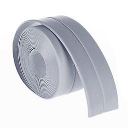 modern bathroom basins 2018 - 38mm*3.2M wallpaper Kitchen Bathroom Bathtub Wall Sealing Tape Strips Mildew Resistant Self Adhesive Tape Sink Basin Waterproof