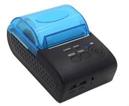 Deutschland Neue Ankunft ZJ - 5805 58mm Bluetooth Drucker 4.0 Android 4.0 POS Eingang Thermodrucker Bill Maschine für Supermarkt LLFA Versorgung