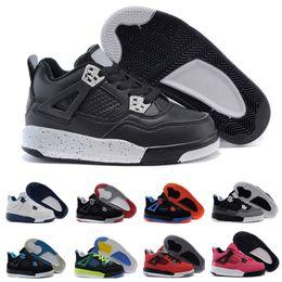 best loved 8e041 ccdc8 ... blanco negro rojo air jordan 13 schuhe  Nike air Jordan 4 13 retro  Nuevos Niños Zapatillas de Baloncesto 4 Niños zapatillas de bebé ...