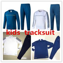 Wholesale Drawstring Jacket - AAA+quality 2017 2018 KIDS DYBALA Football tracksuit jacket sportswear 17 18 HIGUAIN MARCHISIO ZAZA DANI ALVES KIDS jacket Training suit