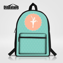 335b2ef35420 Ballet Girl Printing School Backpack For Teenage Girls Lovely Gifts  Bookbags Women Stylish Travel Shoulder Bags Rugtas Child Canvas Mochila