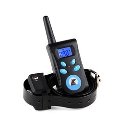 Wholesale Electronic Remote Dog Training Collar - Dog Training Collar Rechargeable and Rainproof 500m Remote Dog Shock Collar with Beep, Vibra and Shock Electronic Collar