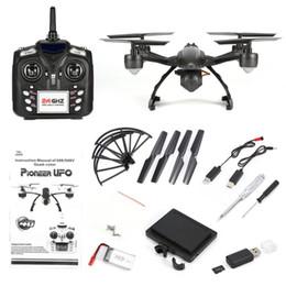 2019 vol caméra Quadricoptère JXD 509G 2.4GHz Mini Drone 5.8G RC avec caméra 2.0MP HD Mode sans tête Mode de vol intégré avec verrouillage de la hauteur intégrée vol caméra pas cher