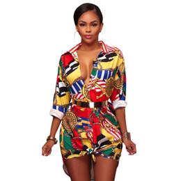 f3b1cb9e395480 ladies tunic blouses Coupons - Autumn Women Tunic Tops Sexy V-Neck Elegant  Shirt Floral