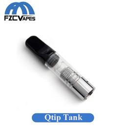 Cuve de vaporisation chauffage céramique en Ligne-Authentic Airis Qtip Wax Tank Qcell Technologie Vapeur Quatz Vaporisateur Pure Flavor Pure Saveur avec Embout Céramique Airistech