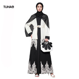 79eda09fe32 TUHAO Autumn Maxi Trench Coat Women Outerwear Lace Appliques Plus Size  Cardigans With Sashes Long Windbreaker Robe Femme TB1566