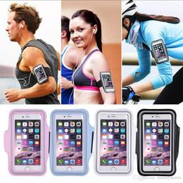 Argentina Al por mayor-Ejercicio de los deportes que se ejecutan gimnasio brazalete brazalete bolso de la caja para el teléfono celular envío gratis cheap pvc cell phone holder wholesale Suministro
