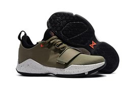 Wholesale Element Shoes - Free Shipping PG 1 Elements Basketball Shoes Mens Medium Olive Black Sneakers