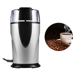 Wholesale nut seeds - Electric Coffee Grinder Bean Grinding Miller Home Kitchen Salt Pepper Mill Spice Nuts Seeds Coffee Bean Grinder Machine 220V