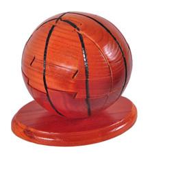 Canada NOUVEAU Building Block Toys Assemblé Jouet En Bois Artisanat Basket-ball Amovible en bois combinaison jouet basket-ball livraison gratuite Offre