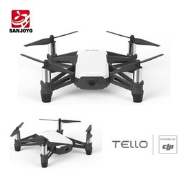 Wholesale Dji Fpv - DJI Tello Mini Drone 720P HD Transmission Camera APP Remote Control Folding Toy FPV RC Quadcopter Drones with EZ Shots