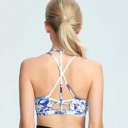 26183bca2b8ec new bra patterns Coupons - New Pattern Yoga Serve Three-colour Beautiful  Back Motion Bras