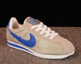 Wholesale hot shells - Hot new brands Casual Shoes men and women cortez shoes leisure Shells shoes Leather fashion outdoor Sneakers size 36-44