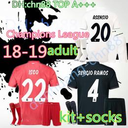 f11dedd51 james madrid jersey 2019 - best Champions League 18 19 Real Madrid kits  adult soccer jerseys