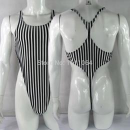 Wholesale cut leotard - Mens bodysuit Thong Leotard cotton poly spandex High Cut Racer Back G628CB