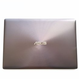 "Conchas de laptop on-line-New Original para ASUS UX303 UX303L UX303LA UX303LN 13,3"" Laptop LCD Rear Lid Tampa traseira Top Shell Toque 13NB04R2AM0111 Não Touch Screen"