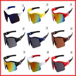 Solo occhiali da sole online-Estate più nuovo stile Solo occhiali da sole 10 colori Occhiali da sole Occhiali da bicicletta per uomo Nizza Sport Occhiali da sole Dazzle Occhiali da vista Spedizione gratuita