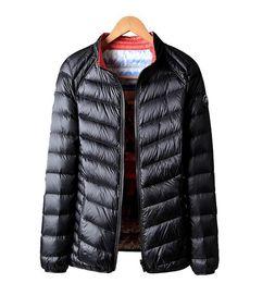 Smart Autumn Winter Women Ultra Light Down Jacket White Duck Down Lightweight Parkas Female Warm Slim Thin Short Coat Plus Size Women's Clothing Parkas