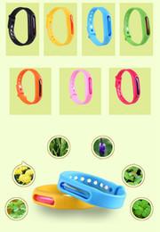 handschlaufe armband Rabatt Wholesale Freies DHL 100 stücke Moskito Repellent Armband Band Anti-Moskito Reine Natürliche Armband Handschlaufe für Baby Erwachsene Alter QW002