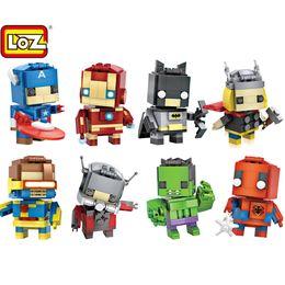 Loz алмазные блоки мини Миньон DIY кирпичи понять игрушки для детей подарки 3D озадаченный Мстители строительный кирпич игрушки от Поставщики алмазные блоки mini loz