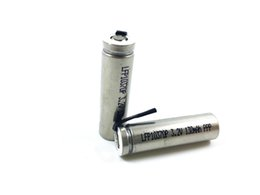 Wholesale Tab Batteries - IQOS rechargeable LiFePO4 battery cell LFP10370P 130mAh 3.2V high power with tabs