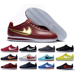 Wholesale Pvc Net - 2017 Hot Sale Cortez Mens Womens Net Point Running Shoes for Sculpture High Frequency Top quality Outdoor Classic Casual Sneakers 36-44