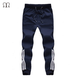2019 tute sportive a righe 2018 New Fashion Tuta Booms Mens Pantaloni Casual Pantaloni sportivi Coon Mens Jogging Pantaloni a strisce Palestre Abbigliamento Plus Size 5XL sconti tute sportive a righe