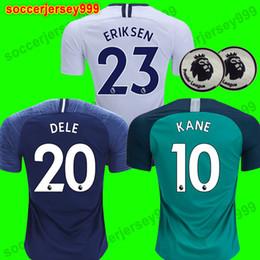 Top tailandes Tottenham hotspur KANE Soccer Jersey 2018 2019 LAMELA ERIKSEN  DELE SON espuelas spurs jerseys 18 19 Camisetas de fútbol uniformes  CAMISETAS DE ... 2fb0580d4434b